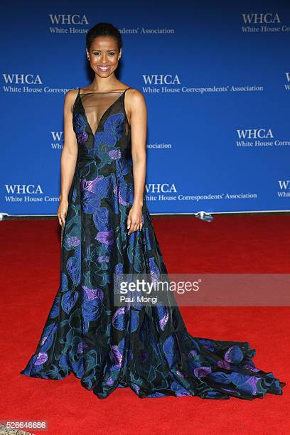 Actress Gugu MbathaRaw attends the 102nd White House Correspondents' Association Dinner on April 30 2016 in Washington DC