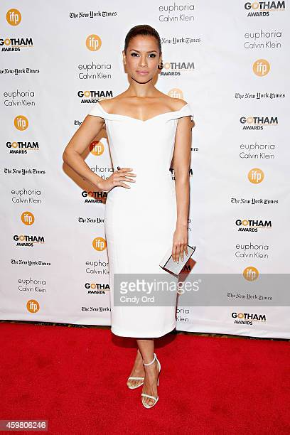 Actress Gugu MbathaRaw attends the 24th Annual Gotham Independent Film Awards at Cipriani Wall Street on December 1 2014 in New York City