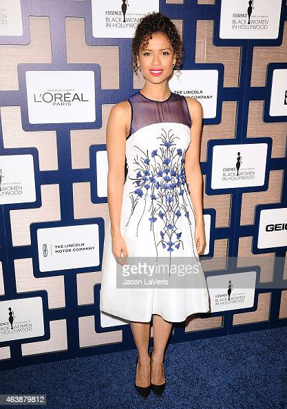 Actress Gugu MbathaRaw attends the 8th annual ESSENCE Black Women In Hollywood luncheon at the Beverly Wilshire Four Seasons Hotel on February 19...