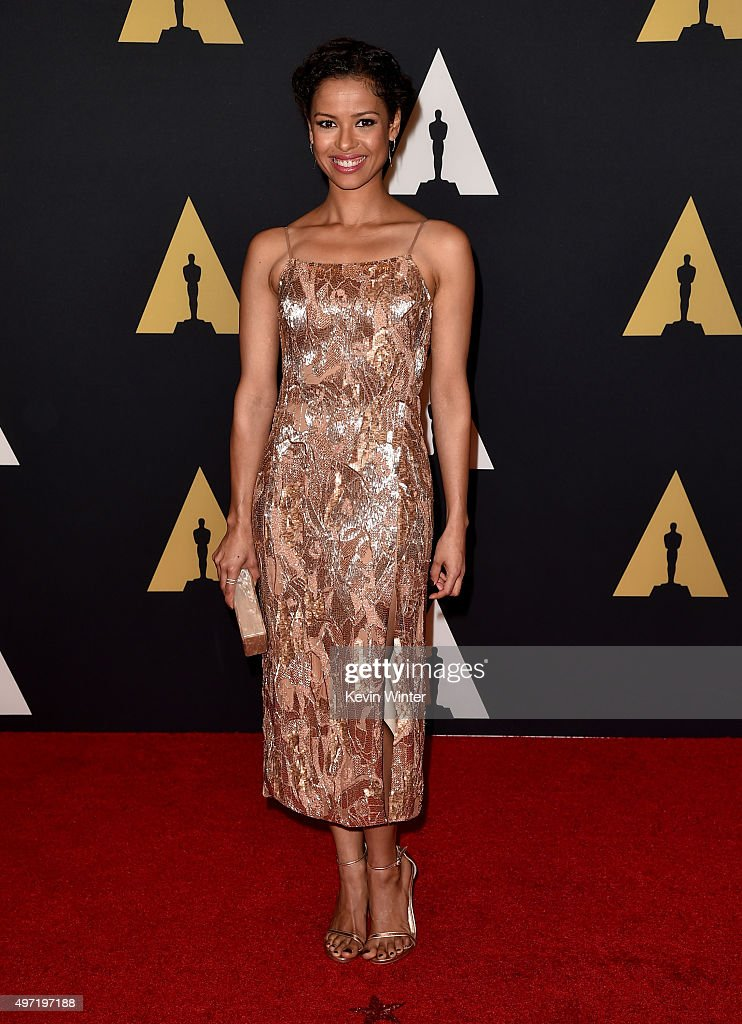 Actress Gugu Mbatha-Raw attends the Academy of Motion Picture Arts and Sciences' 7th annual Governors Awards at The Ray Dolby Ballroom at Hollywood & Highland Center on November 14, 2015 in Hollywood, California.