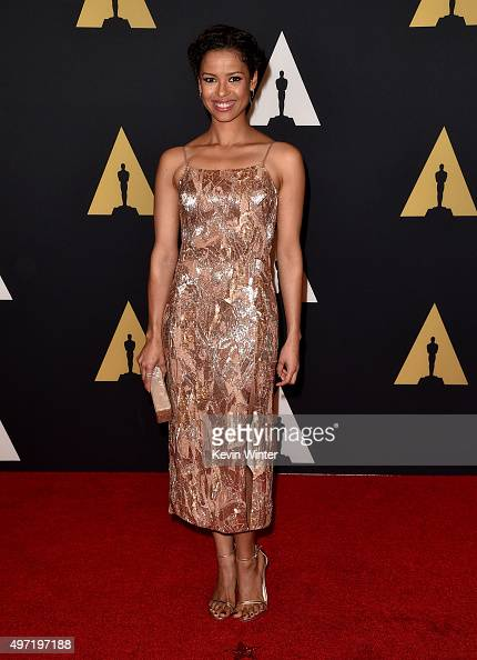 Actress Gugu MbathaRaw attends the Academy of Motion Picture Arts and Sciences' 7th annual Governors Awards at The Ray Dolby Ballroom at Hollywood...
