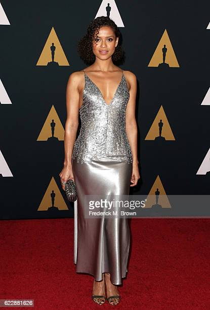 Actress Gugu MbathaRaw attends the Academy of Motion Picture Arts and Sciences' 8th annual Governors Awards at The Ray Dolby Ballroom at Hollywood...