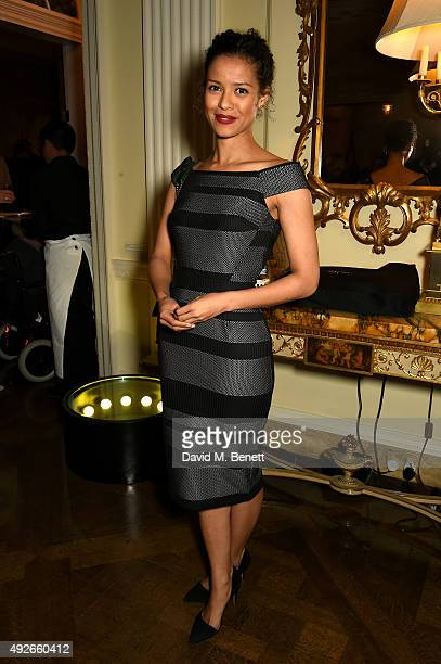 Actress Gugu MbathaRaw attends The Academy Of Motion Pictures Arts Sciences new members reception hosted by Ambassador Matthew Barzun and Mrs Brooke...