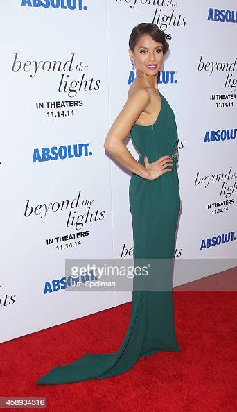Actress Gugu MbathaRaw attends the 'Beyond The Lights' New York Premiere at Regal Union Square on November 13 2014 in New York City