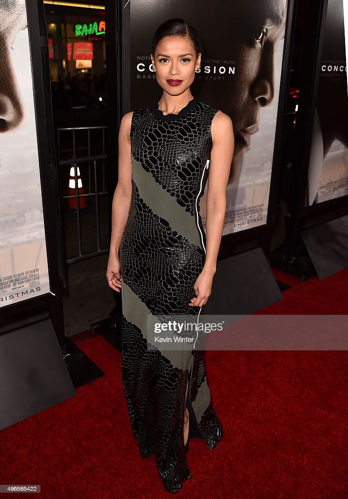 Actress Gugu Mbatha-Raw attends the Centerpiece Gala Premiere of Columbia Pictures' 'Concussion' during AFI FEST 2015 presented by Audi at TCL Chinese Theatre on November 10, 2015 in Hollywood, California.