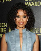 Actress Gugu MbathaRaw attends the Hollywood Foreign Press Association and InStyle's celebration of the 2015 Golden Globe award season at Fig Olive...