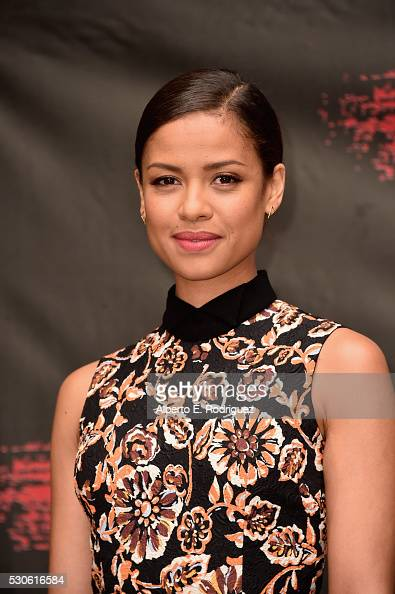 Actress Gugu MbathaRaw attends the photo call for STX Entertainment's 'Free State Of Jones' at Four Seasons Hotel Los Angeles at Beverly Hills on May...