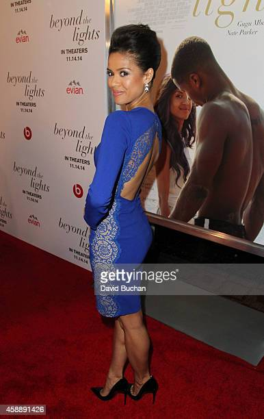 Actress Gugu MbathaRaw attends the Premiere of Relativity Studios and BET Networks' 'Beyond The Lights' at ArcLight Hollywood on November 12 2014 in...