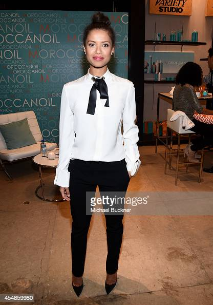 Actress Gugu MbathaRaw attends the Variety Studio presented by Moroccanoil at Holt Renfrew during the 2014 Toronto International Film Festival on...