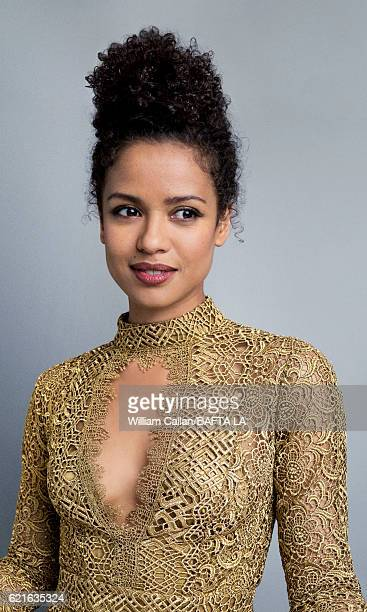 Actress Gugu MbathaRaw poses for a portrait at the 2016 AMD British Academy Britannia Awards presented by Jaguar Land Rover and American Airlines at...