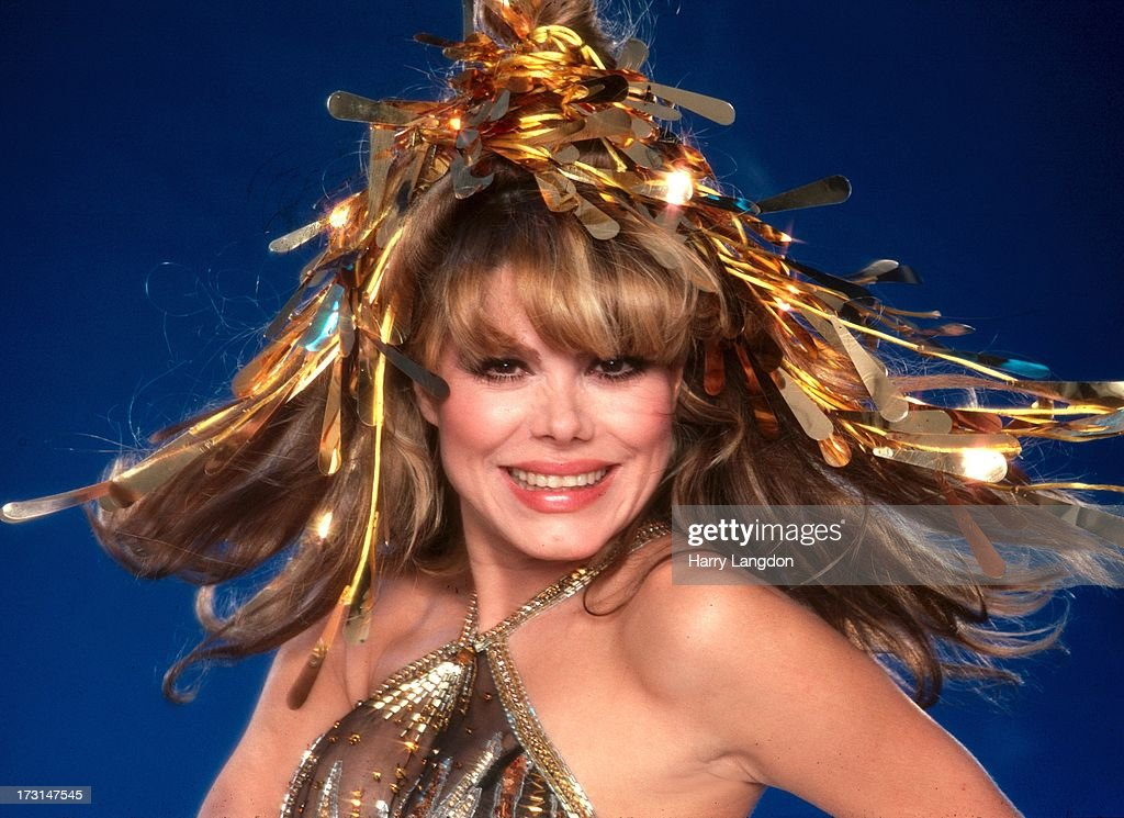 Actress guitarist and singer Charo poses for a portrait circa 1985 in Los Angeles California