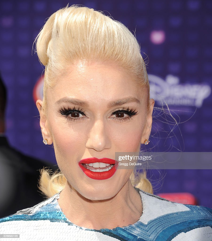 Actress Gwen Stefani arrives at the 2016 Radio Disney Music Awards at Microsoft Theater on April 30, 2016 in Los Angeles, California.