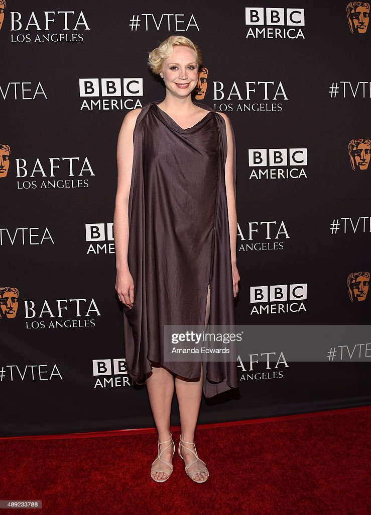 Actress Gwendoline Christie arrives at the BAFTA Los Angeles TV Tea 2015 at the SLS Hotel on September 19, 2015 in Beverly Hills, California.