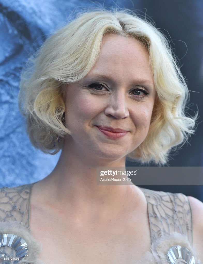 Actress Gwendoline Christie arrives at the premiere of HBO's 'Game Of Thrones' Season 7 at Walt Disney Concert Hall on July 12, 2017 in Los Angeles, California.