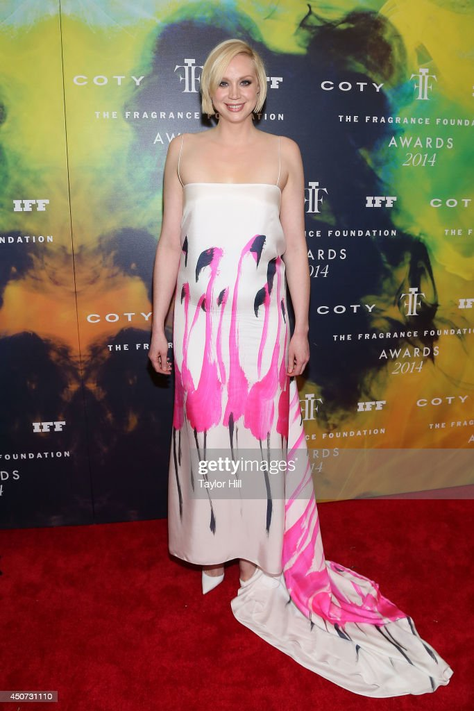Actress <a gi-track='captionPersonalityLinkClicked' href=/galleries/search?phrase=Gwendoline+Christie&family=editorial&specificpeople=6341361 ng-click='$event.stopPropagation()'>Gwendoline Christie</a> attends 2014 Fragrance Foundation awards at Alice Tully Hall, Lincoln Center on June 16, 2014 in New York City.