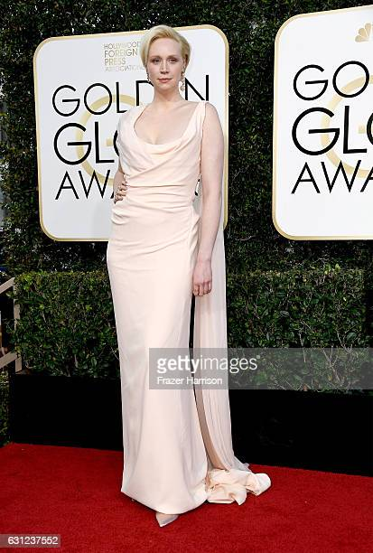Actress Gwendoline Christie attends the 74th Annual Golden Globe Awards at The Beverly Hilton Hotel on January 8 2017 in Beverly Hills California