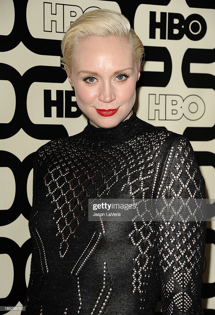 Actress Gwendoline Christie attends the HBO after party at the 70th annual Golden Globe Awards at Circa 55 restaurant at the Beverly Hilton Hotel on January 13, 2013 in Los Angeles, California.