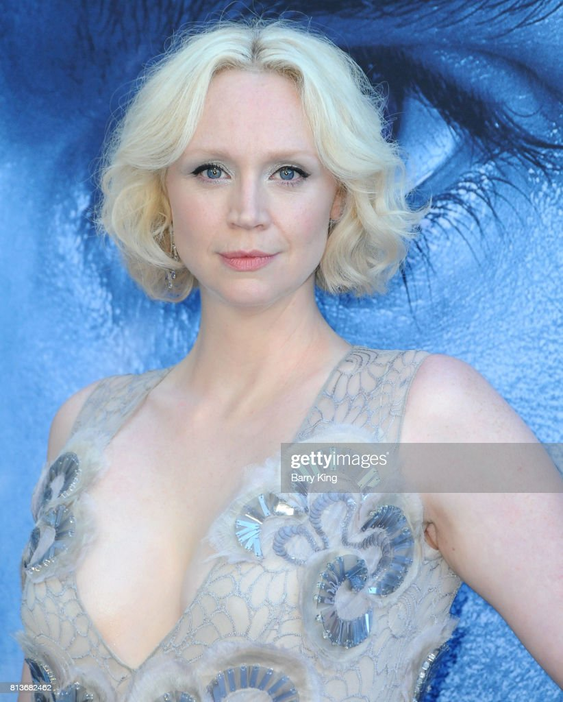 Actress Gwendoline Christie attends the Premiere of HBO's 'Game Of Thrones' Season 7 at Walt Disney Concert Hall on July 12, 2017 in Los Angeles, California.