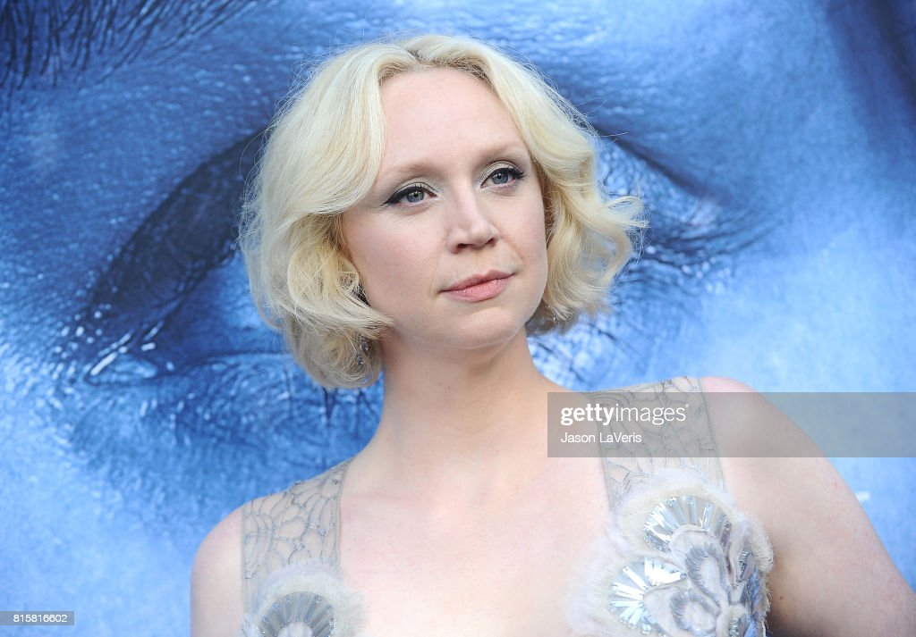 Actress Gwendoline Christie attends the season 7 premiere of 'Game Of Thrones' at Walt Disney Concert Hall on July 12, 2017 in Los Angeles, California.