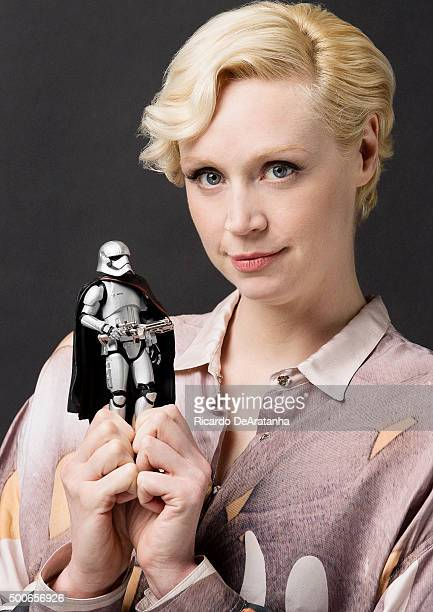 Actress Gwendoline Christie is photographed for Los Angeles Times on September 16 2015 in Los Angeles California PUBLISHED IMAGE CREDIT MUST READ...