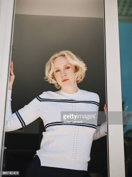 Actress Gwendoline Christie is photographed for Self Assignment on May 24 2017 in Cannes France