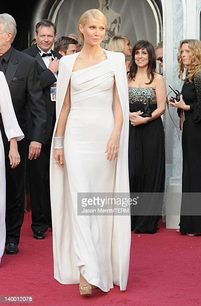 Actress Gwyenth Paltrow arrives at the 84th Annual Academy Awards held at the Hollywood Highland Center on February 26 2012 in Hollywood California