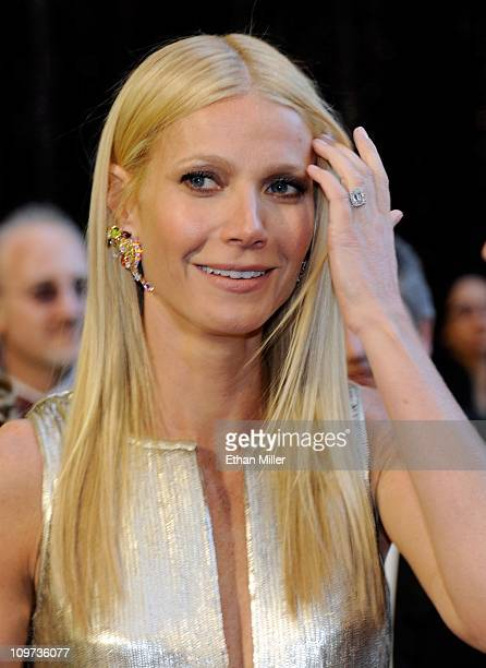 Actress Gwyneth Paltrow arrives at the 83rd Annual Academy Awards at the Kodak Theatre February 27 2011 in Hollywood California