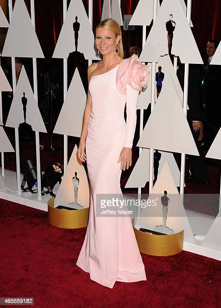 Actress Gwyneth Paltrow arrives at the 87th Annual Academy Awards at Hollywood Highland Center on February 22 2015 in Hollywood California