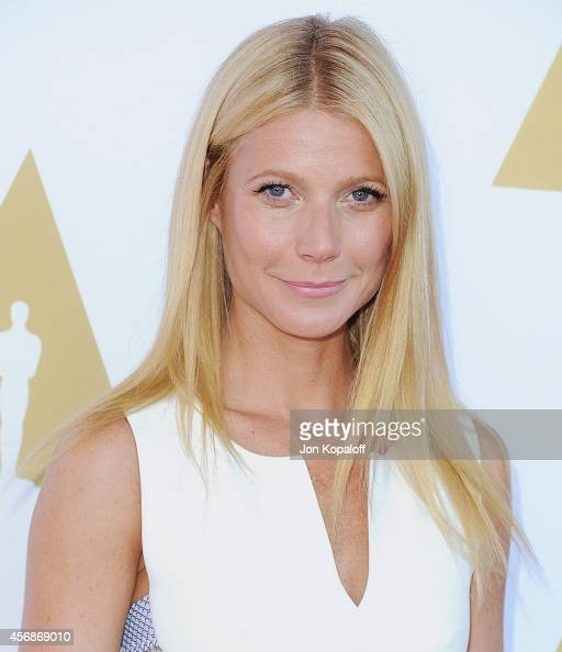Actress Gwyneth Paltrow arrives at The Academy Hosts Hollywood Costume Private Luncheon at Wilshire May Company Building on October 8 2014 in Los...