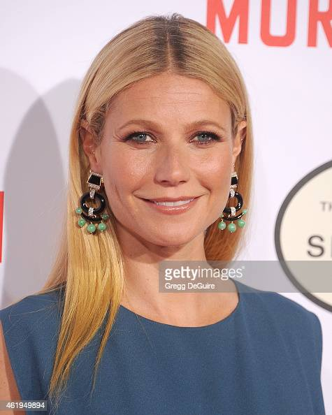 Actress Gwyneth Paltrow arrives at the Los Angeles premiere of 'Mortdecai' at TCL Chinese Theatre on January 21 2015 in Hollywood California