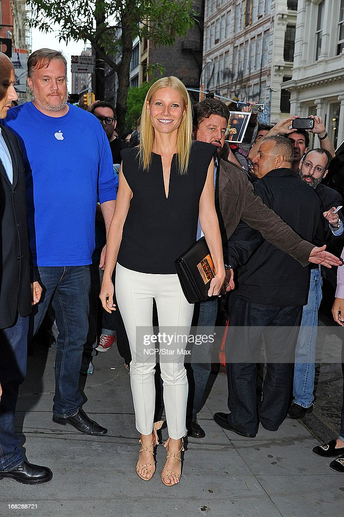 Actress <a gi-track='captionPersonalityLinkClicked' href=/galleries/search?phrase=Gwyneth+Paltrow&family=editorial&specificpeople=171431 ng-click='$event.stopPropagation()'>Gwyneth Paltrow</a> as seen on May 7, 2013 in New York City.
