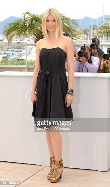 AP OUT Actress Gwyneth Paltrow attending a photocall for the film 'Two Lovers' at the 61st Cannes Film Festival France