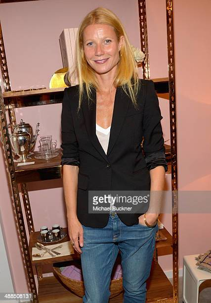 Actress Gwyneth Paltrow attends Goop PopUp Shop on May 6 2014 in Los Angeles California