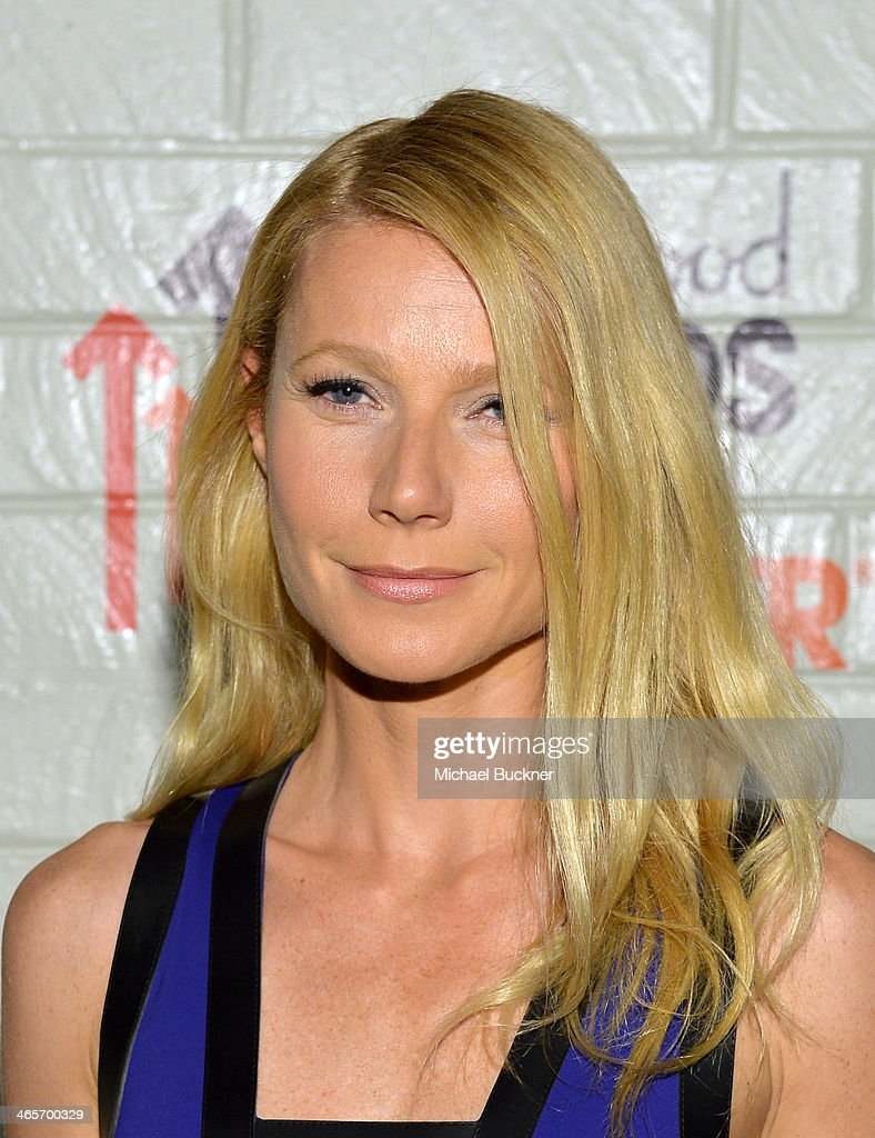Actress Gwyneth Paltrow attends Hollywood Stands Up To Cancer Event with contributors American Cancer Society and Bristol Myers Squibb hosted by Jim Toth and Reese Witherspoon and the Entertainment Industry Foundation on Tuesday, January 28, 2014 in Culver City, California.