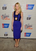 Actress Gwyneth Paltrow attends Hollywood Stands Up To Cancer Event with contributors American Cancer Society and Bristol Myers Squibb hosted by Jim...