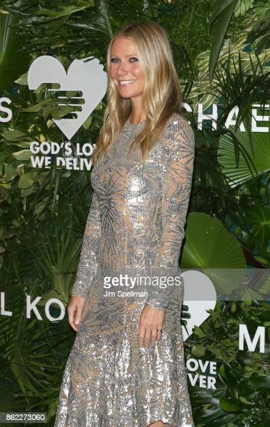 Actress Gwyneth Paltrow attends the 11th Annual God's Love We Deliver Golden Heart Awards at Spring Studios on October 16 2017 in New York City