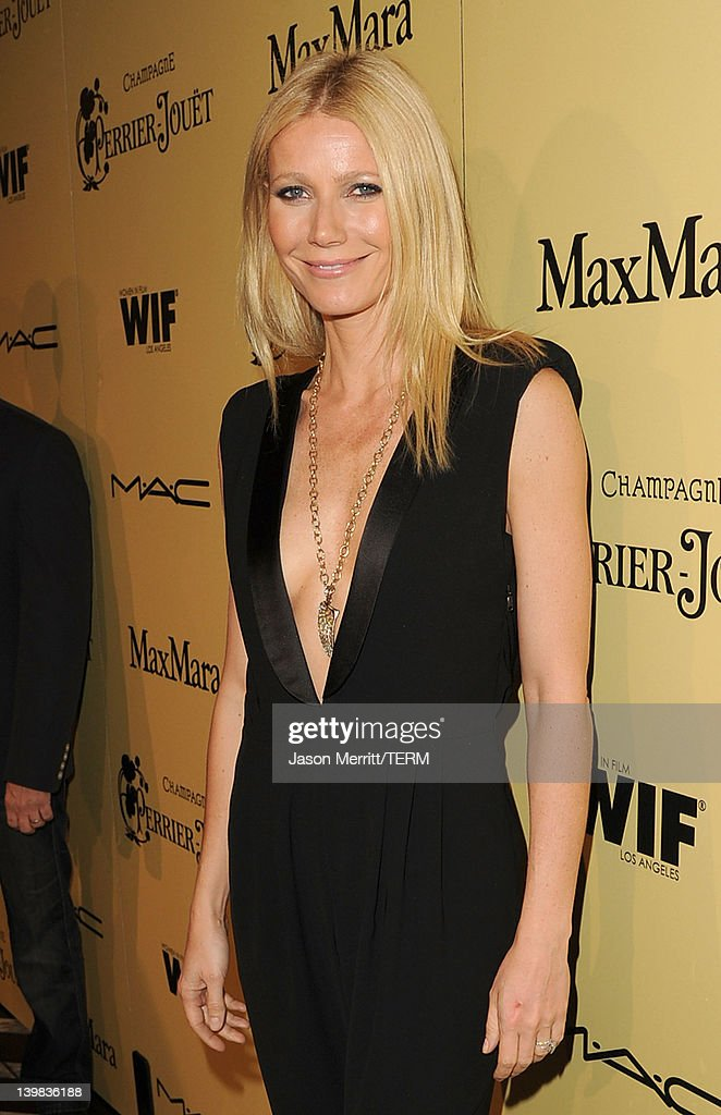 Actress Gwyneth Paltrow attends the Fifth Annual Women In Film Pre-Oscar Cocktail Party at Cecconi's Restaurant on February 24, 2012 in Los Angeles, California.