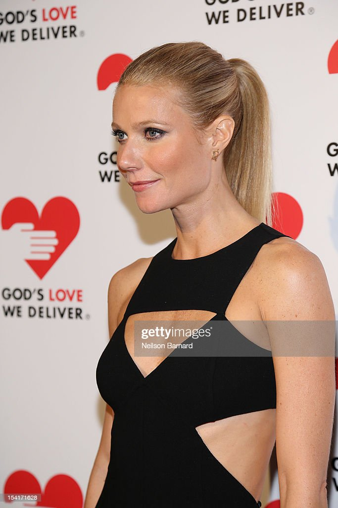 Actress Gwyneth Paltrow attends the Michael Kors- Golden Heart Gala at Cunard Building on October 15, 2012 in New York City.