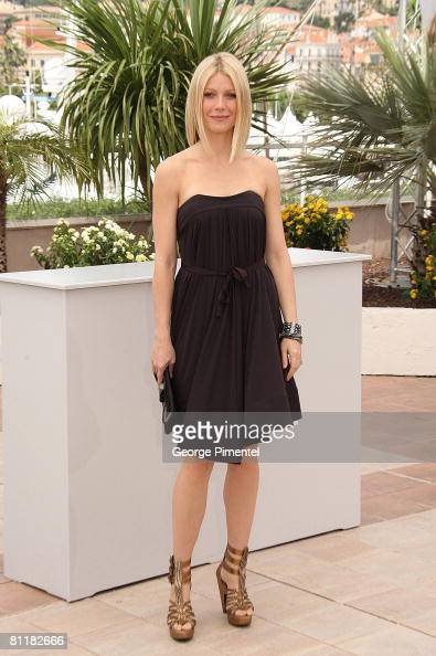 Actress Gwyneth Paltrow attends the 'Two Lovers' photocall at the Palais des Festivals during the 61st Cannes International Film Festival on May 20...