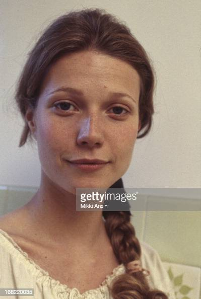 Actress Gwyneth Paltrow on the set of the Merchant Ivory film 'Jefferson in Paris' Paris France June 1994