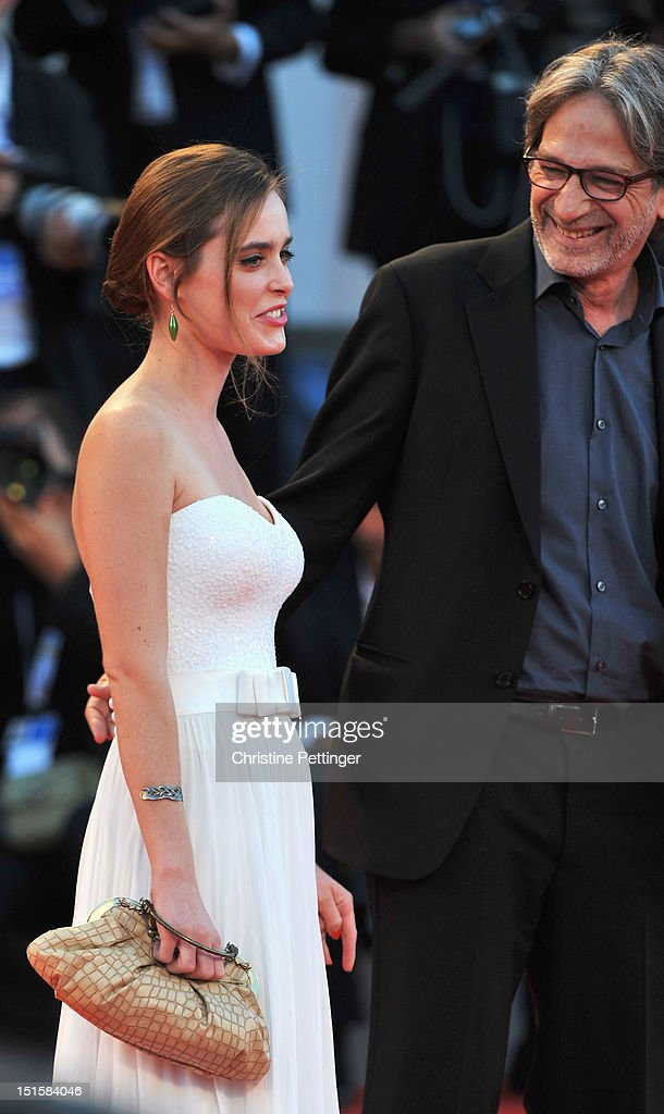 Actress Hadas Yaron attends the Award Ceremony during The 69th Venice Film Festival at the Palazzo del Cinema on September 8, 2012 in Venice, Italy.