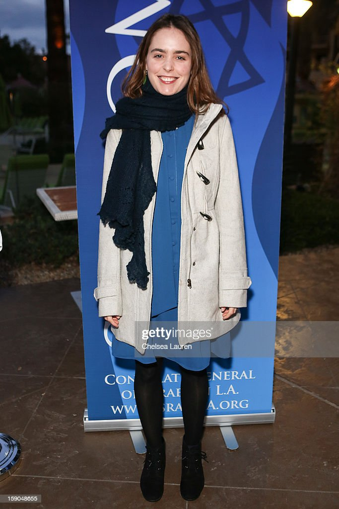 Actress Hadas Yaron attends the Israeli reception at the Palm Springs International Film Festival on January 6, 2013 in Palm Springs, California.