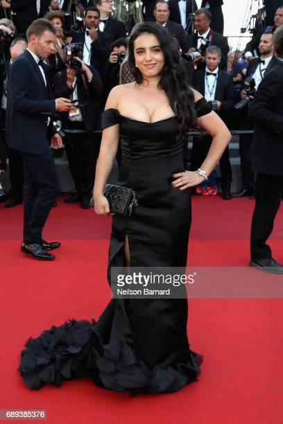 Actress Hafsia Herzi attends the Closing Ceremony of the 70th annual Cannes Film Festival at Palais des Festivals on May 28 2017 in Cannes France