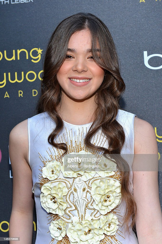 Actress Hailee Steinfeld arrives at 14th Annual Young Hollywood Awards presented by Bing at Hollywood Athletic Club on June 14, 2012 in Hollywood, California.