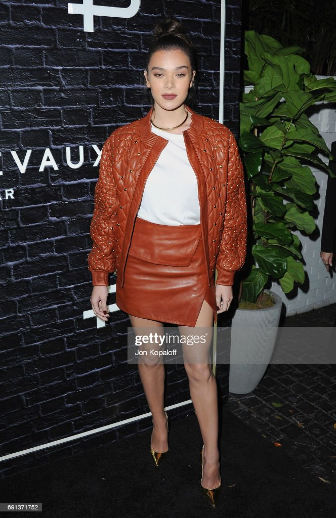 Actress Hailee Steinfeld arrives at Prive Revaux Launch Event at Chateau Marmont on June 1, 2017 in Los Angeles, California.
