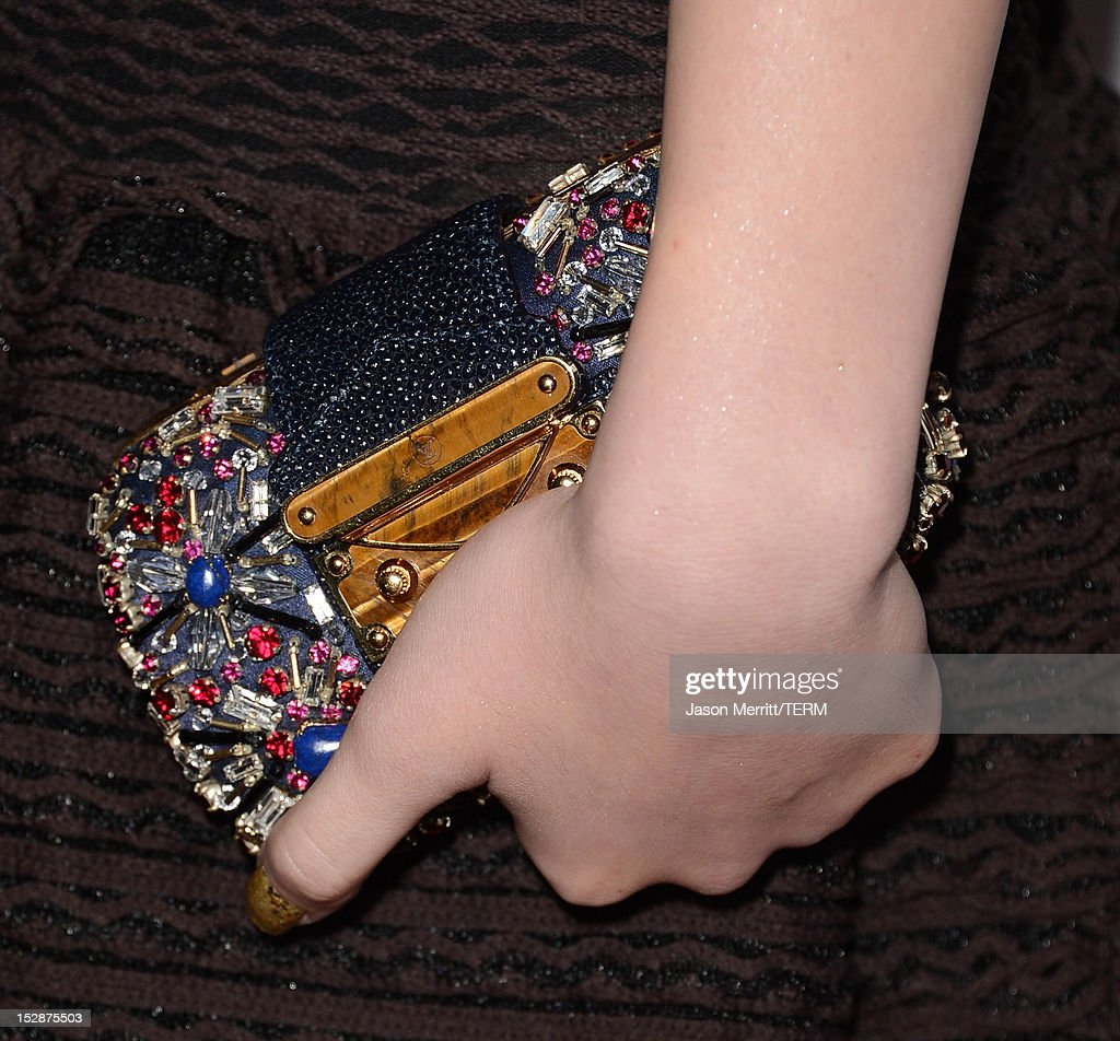 Actress Hailee Steinfeld arrives at Teen Vogue's 10th Anniversary young Hollywood party on September 27, 2012 in Beverly Hills, California.
