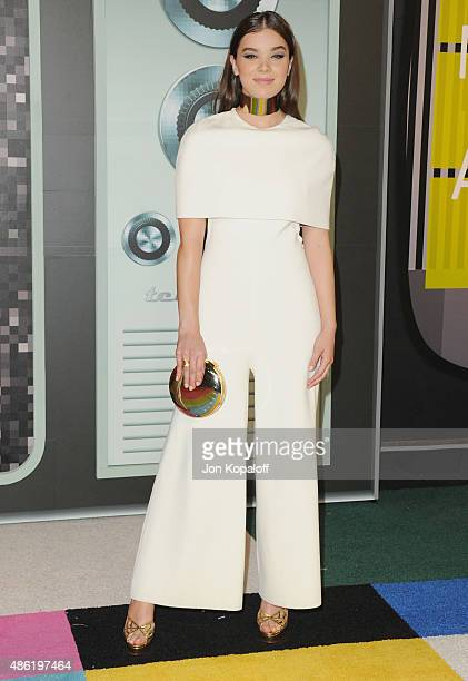 Actress Hailee Steinfeld arrives at the 2015 MTV Video Music Awards at Microsoft Theater on August 30 2015 in Los Angeles California