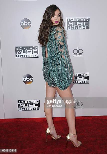 Actress Hailee Steinfeld arrives at the 2016 American Music Awards at Microsoft Theater on November 20 2016 in Los Angeles California