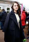 Actress Hailee Steinfeld attends Stella Artois At The Village At The Lift 2015 Day 1 on January 23 2015 in Park City Utah