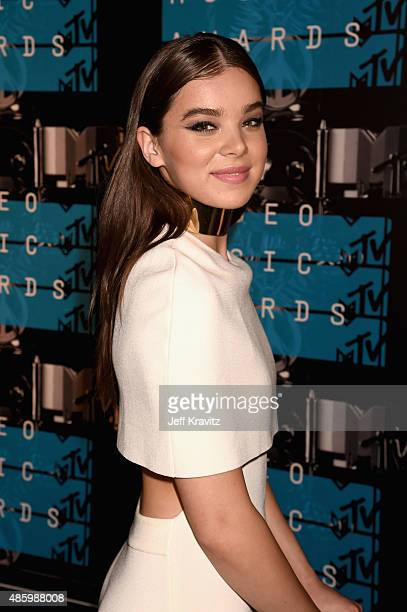 Actress Hailee Steinfeld attends the 2015 MTV Video Music Awards at Microsoft Theater on August 30 2015 in Los Angeles California